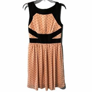 Enfocus Studio Polka Dot Sheath Dress